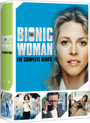 FanSource Lindsay Wagner The Bionic Woman The Complete Series