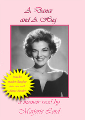 FanSource Marjorie Lord A Dance and A Hug Audio CD