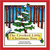 FanSource Jorian Clair Autogrpahed The Crooked Little Christmas Tree Softcover Book