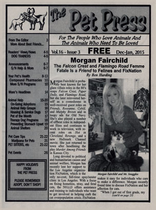FanSource Morgan Fairchild The Pet Press