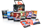 FanSource Martin E. Brooks The Six Million Dollar Man DVD Set